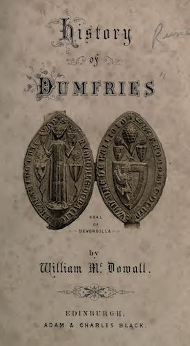 English - History of the Burgh of Dumfries