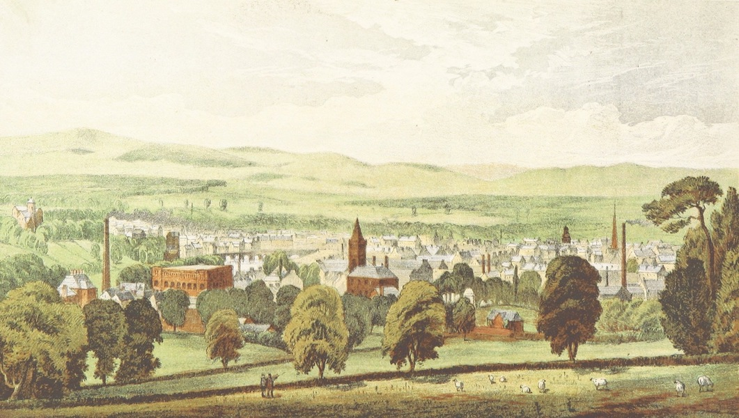 History of the Burgh of Dumfries - Dumfries from Mountain Hall (1873)