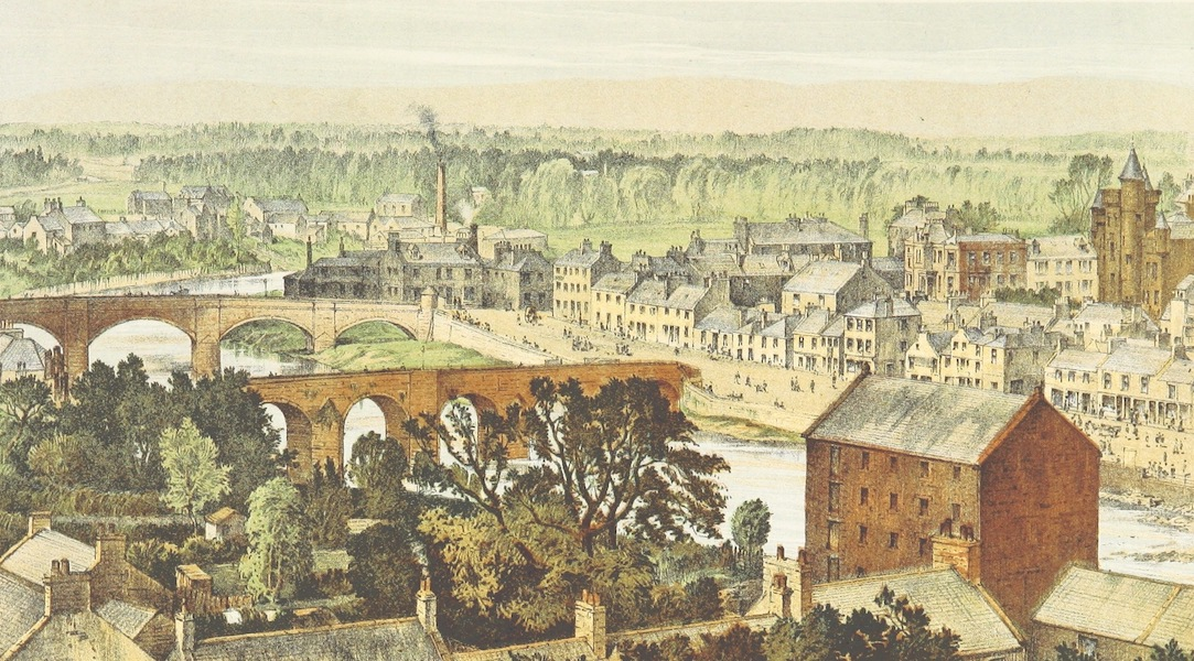 History of the Burgh of Dumfries - Dumfries, North and from the Observatory (1873)