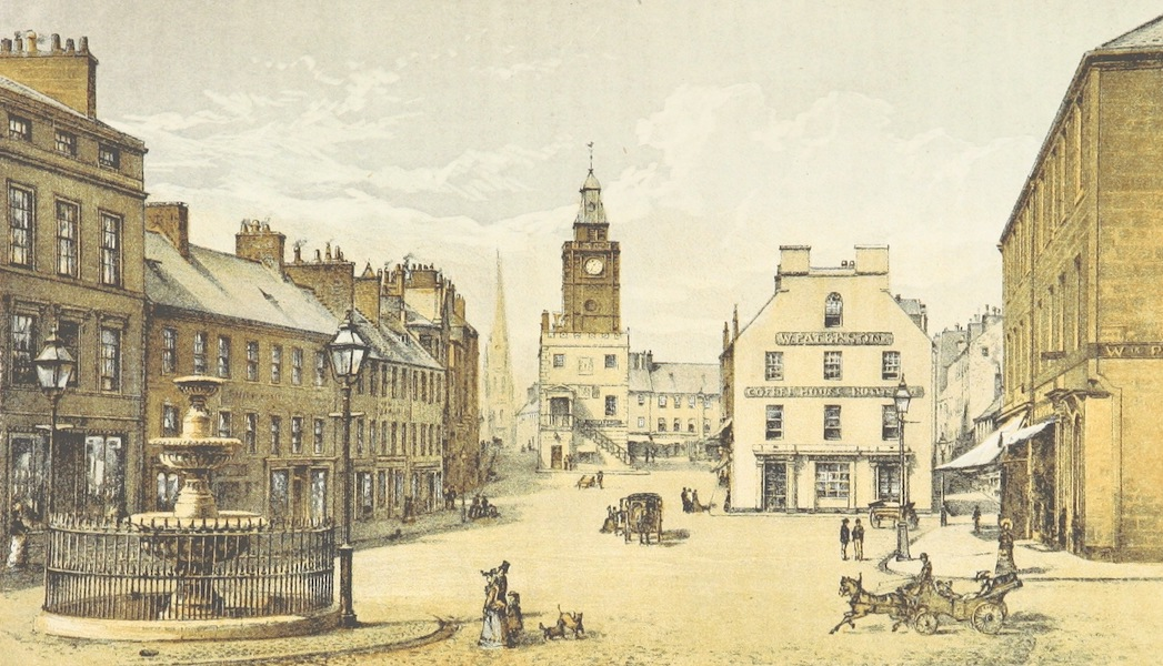 History of the Burgh of Dumfries - High Street, Dumfries (1873)