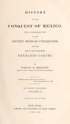 English - History of the Conquest of Mexico Vol. 2