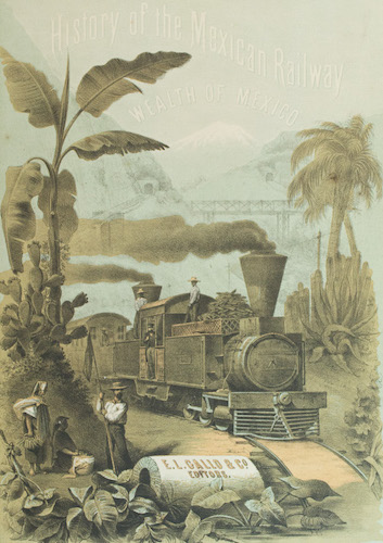 Aquatint & Lithography - History of the Mexican Railway