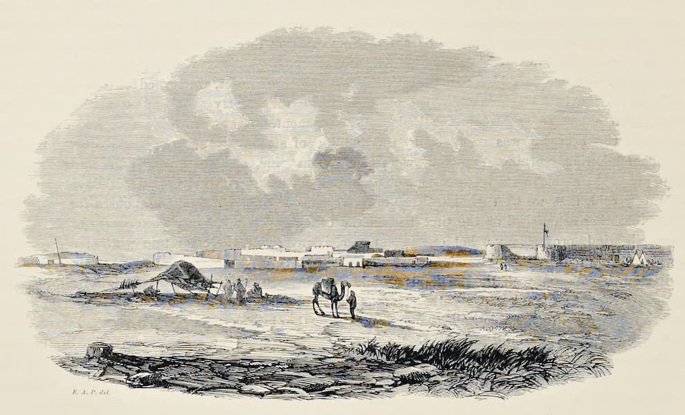 History of the Recent Discoveries at Cyrene - Castle and Village of Merdj Barca (1864)