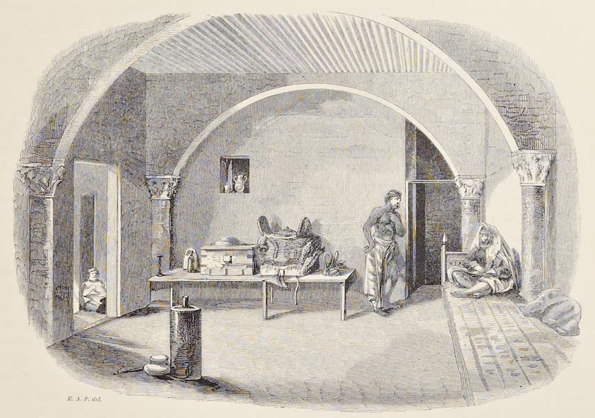History of the Recent Discoveries at Cyrene - Mudir's Room in the Castle of Merdj (1864)