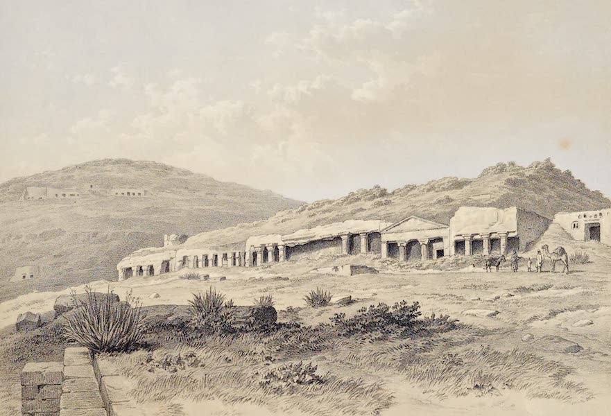History of the Recent Discoveries at Cyrene - Range of Tombs in the Northern Necropolis of Cyrene (1864)