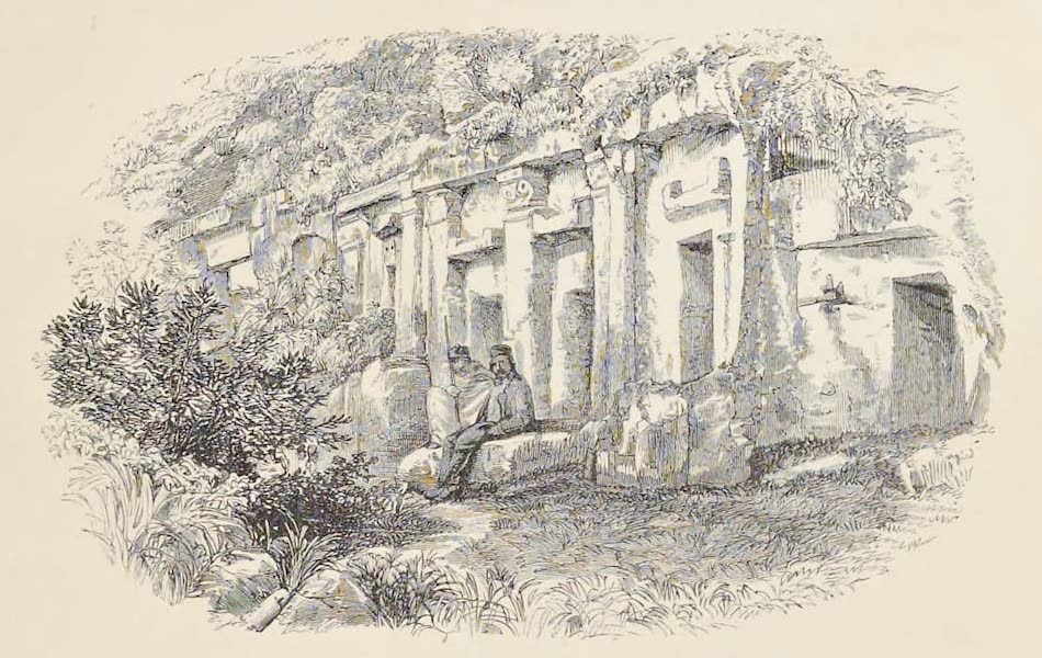 History of the Recent Discoveries at Cyrene - Tombs to the Westward of Wady Bil Ghadir (1864)