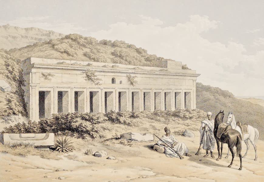 History of the Recent Discoveries at Cyrene - Tomb For 105 Sarcophagi in the Northern Necropolis of Cyrene (1864)