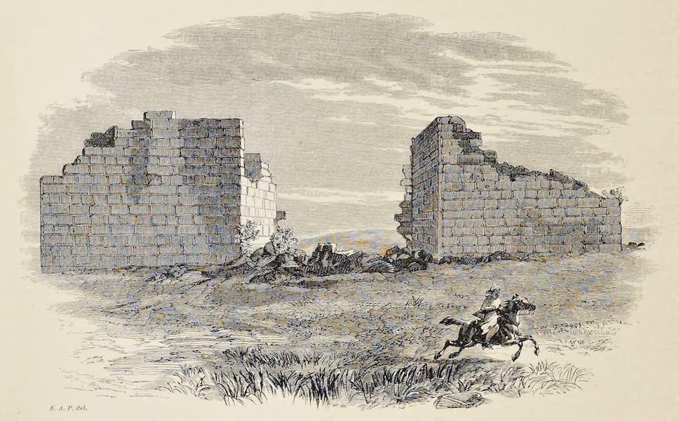 History of the Recent Discoveries at Cyrene - Gateway in the Western Wall of Ptolemais (1864)