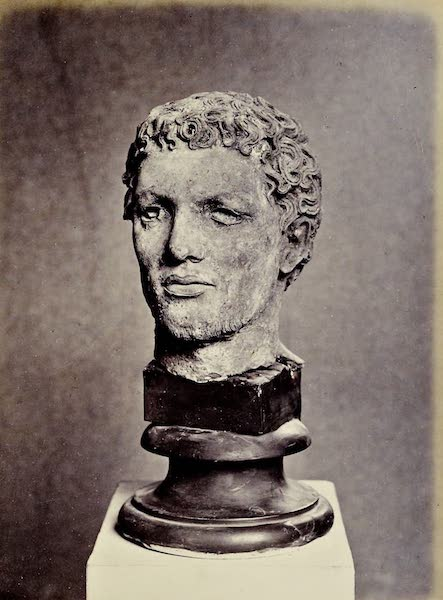 History of the Recent Discoveries at Cyrene - Bronze Iconic Head (1864)