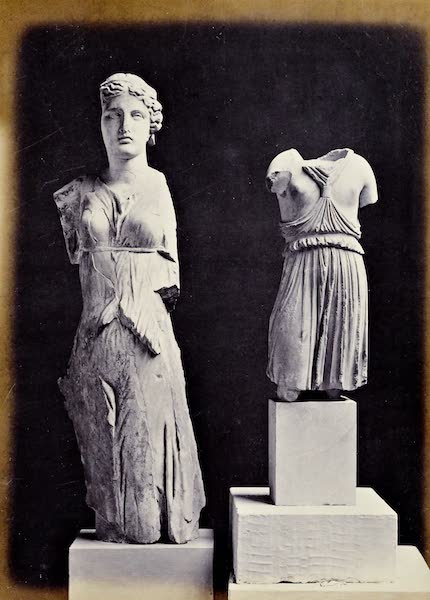 History of the Recent Discoveries at Cyrene - Aphrodite and Female Torso (1864)