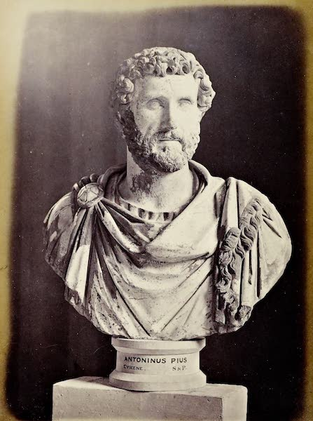 History of the Recent Discoveries at Cyrene - The Emperor Antonius Pius (1864)