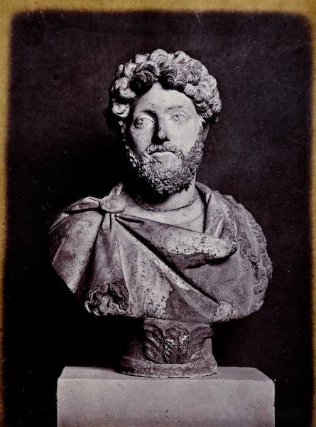 History of the Recent Discoveries at Cyrene - Bust of a Roman Emperor (1864)