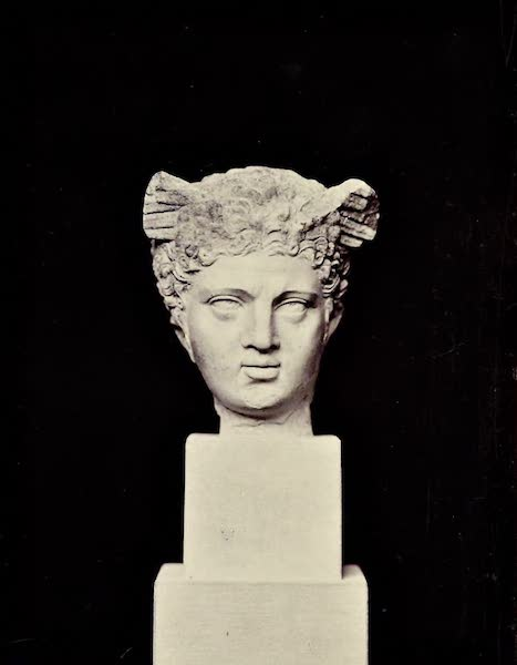 History of the Recent Discoveries at Cyrene - Head of Perseus (1864)