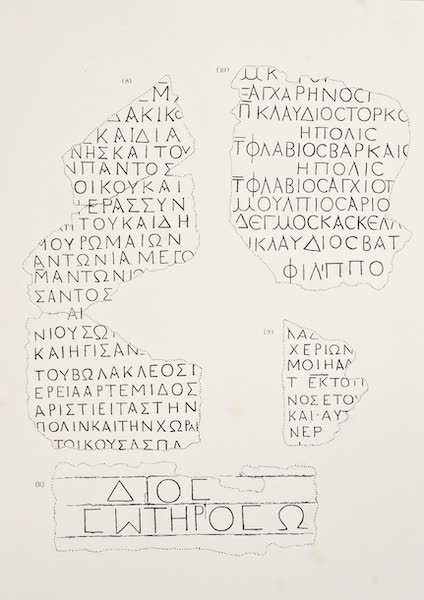 History of the Recent Discoveries at Cyrene - Cyrene Inscriptions [IV] (1864)