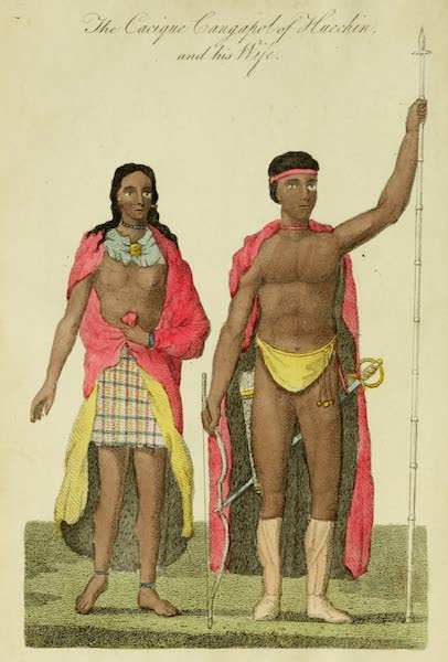 The Cacique Cangapol of Huechin and his Wife