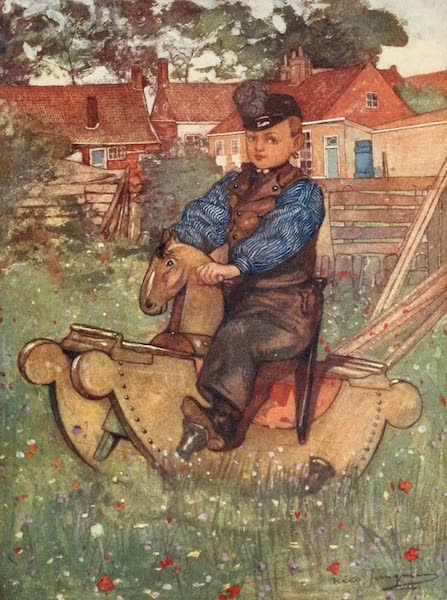Holland, by Nico Jungman - A Boy of Veere (1904)