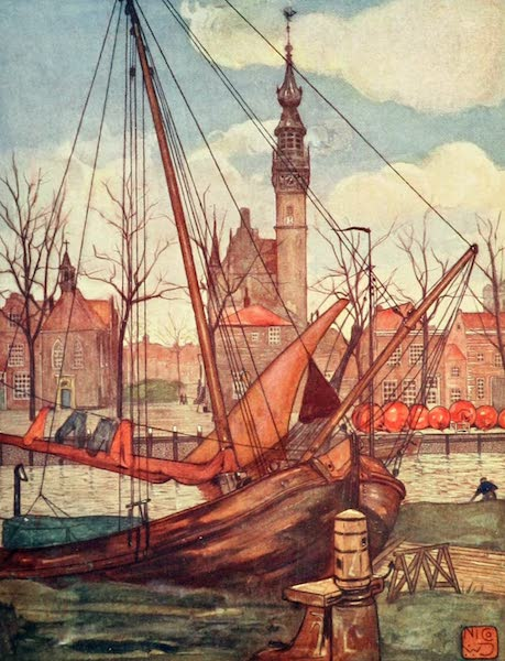 Holland, by Nico Jungman - Veere (1904)