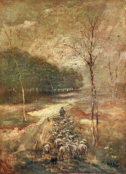 Holland, by Nico Jungman - A Brabant Moor (1904)