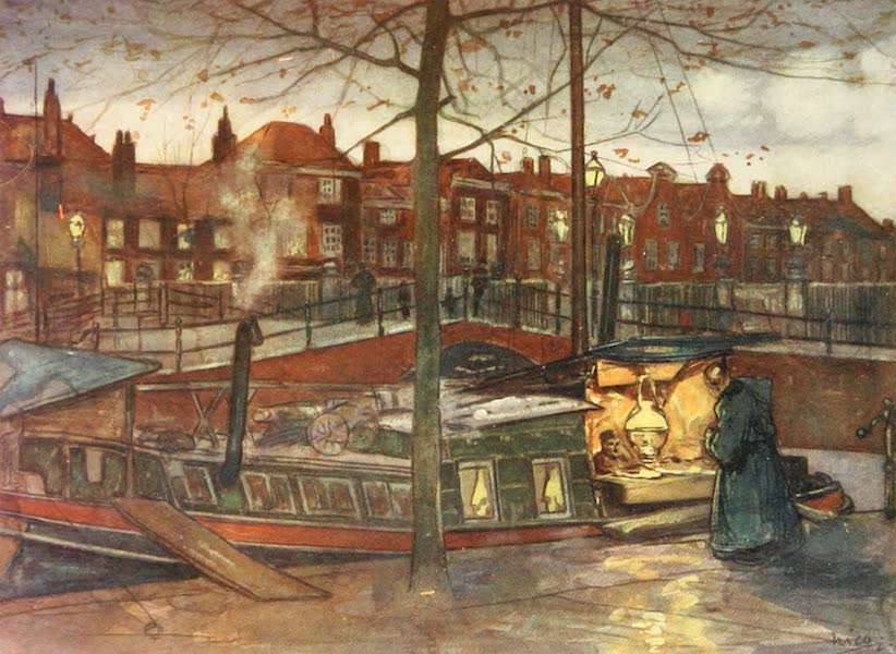 Holland, by Nico Jungman - The Cake Boat (1904)