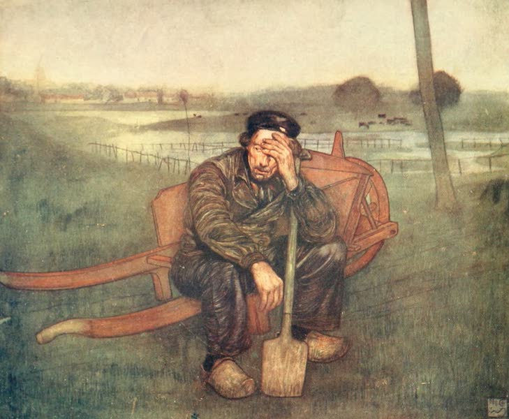 Holland, by Nico Jungman - Tired out (1904)