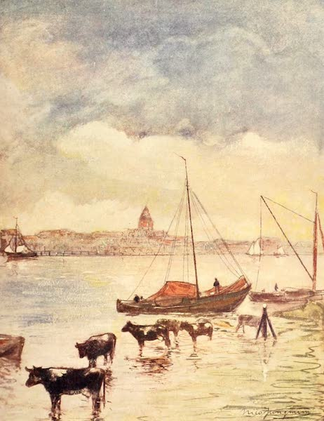 Holland, by Nico Jungman - The River Ysel (1904)