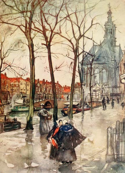 Holland, by Nico Jungman - Canal de Turfmarket, Hague (1904)