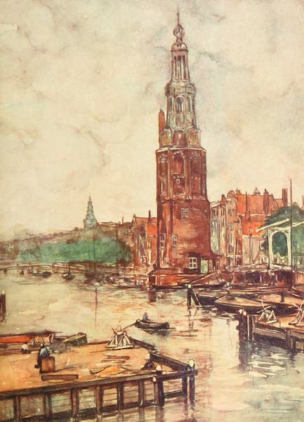 Holland, by Nico Jungman - The Burgher Orphanage, Amsterdam (1904)