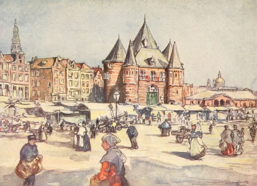Holland, by Nico Jungman - De Waag, Amsterdam (1904)