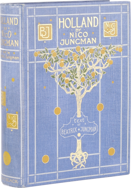 Holland, by Nico Jungman - Book Display (1904)