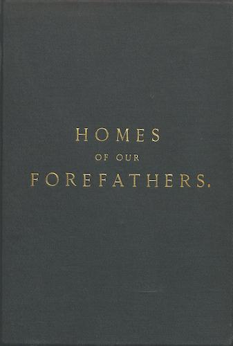 Aquatint & Lithography - Homes of our Forefathers in Boston