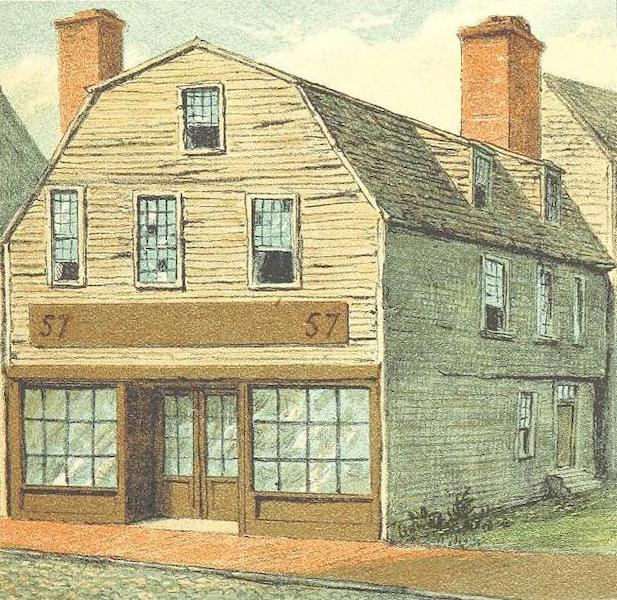 Homes of our Forefathers in Boston - The Thoreau House (1889)