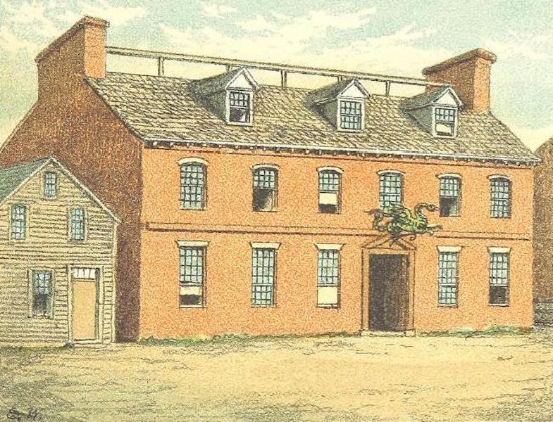 Homes of our Forefathers in Boston - The Green Dragon Inn (1889)