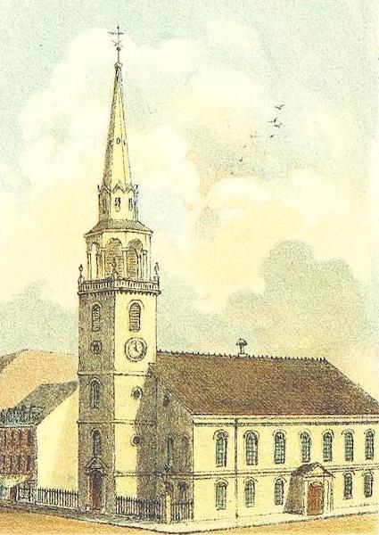 Homes of our Forefathers in Boston - The Old South Church (1889)
