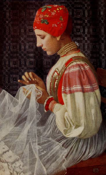 Hungary, Painted and Described - The Bridal Veil (1909)