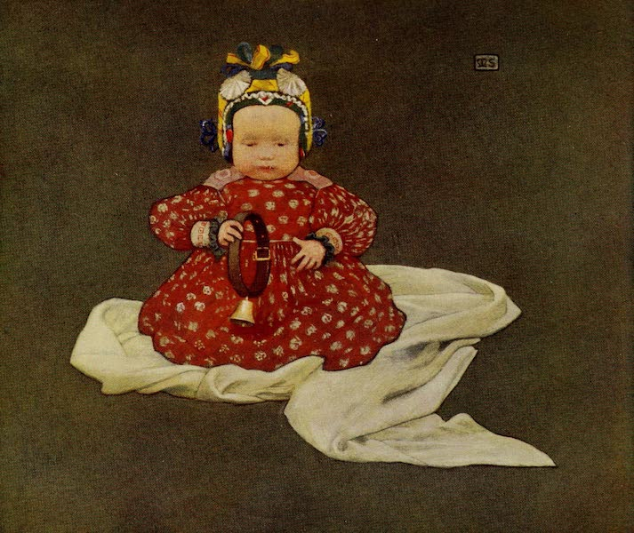 Hungary, Painted and Described - A Hungarian Baby (1909)