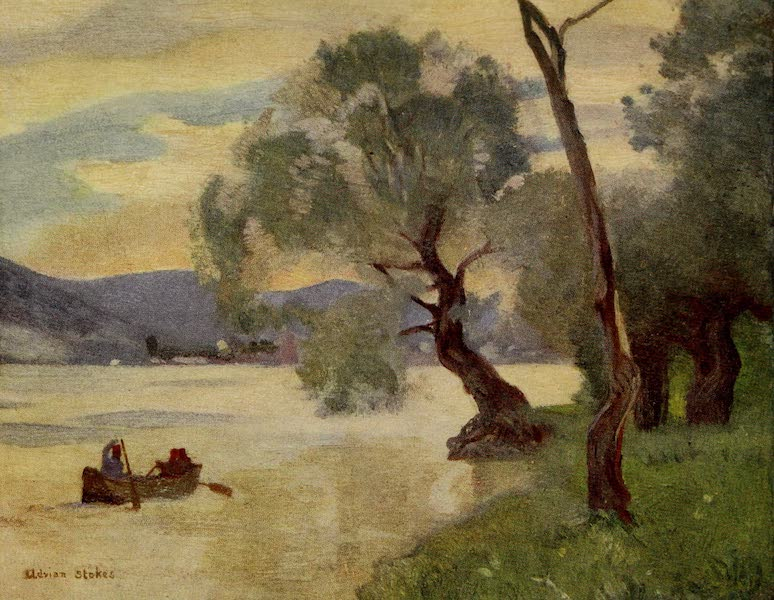 Hungary, Painted and Described - The Danube at Orsova (1909)