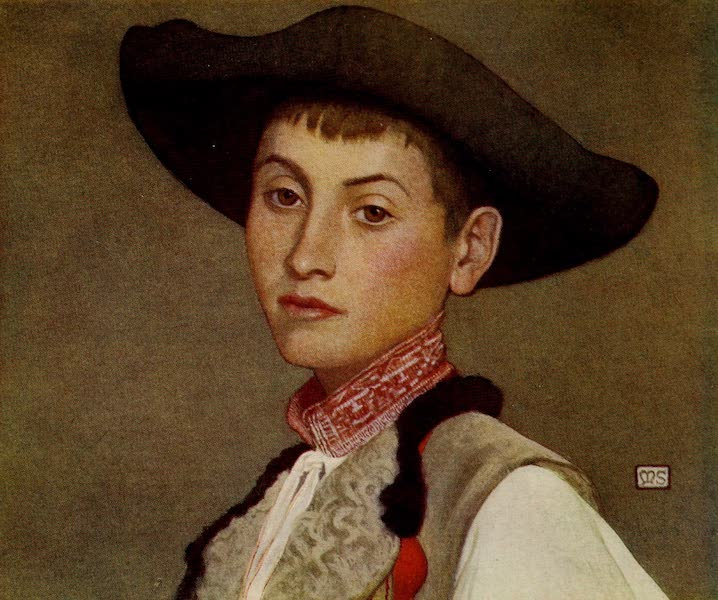 Hungary, Painted and Described - A Young Slovak (1909)