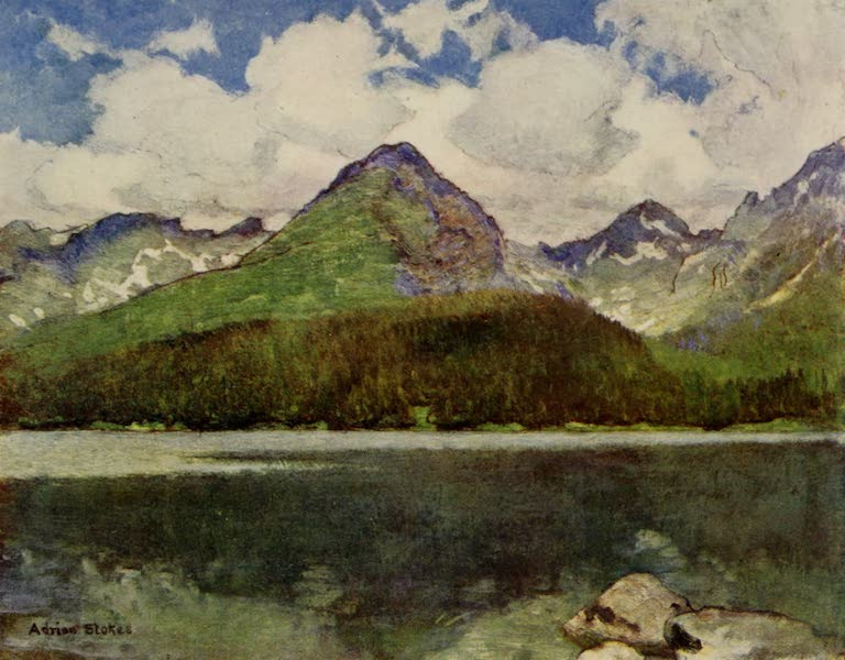 Hungary, Painted and Described - The Lake of Csorba in June (1909)
