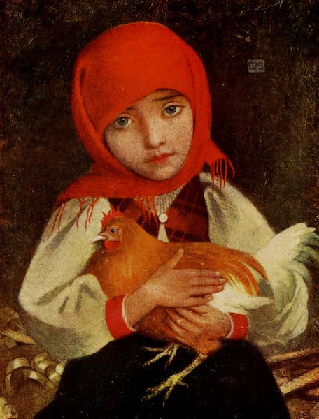 Hungary, Painted and Described - Child with Fowl, Tatra (1909)