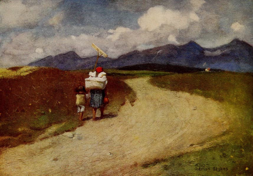 Hungary, Painted and Described - A Road in the Carpathians (1909)