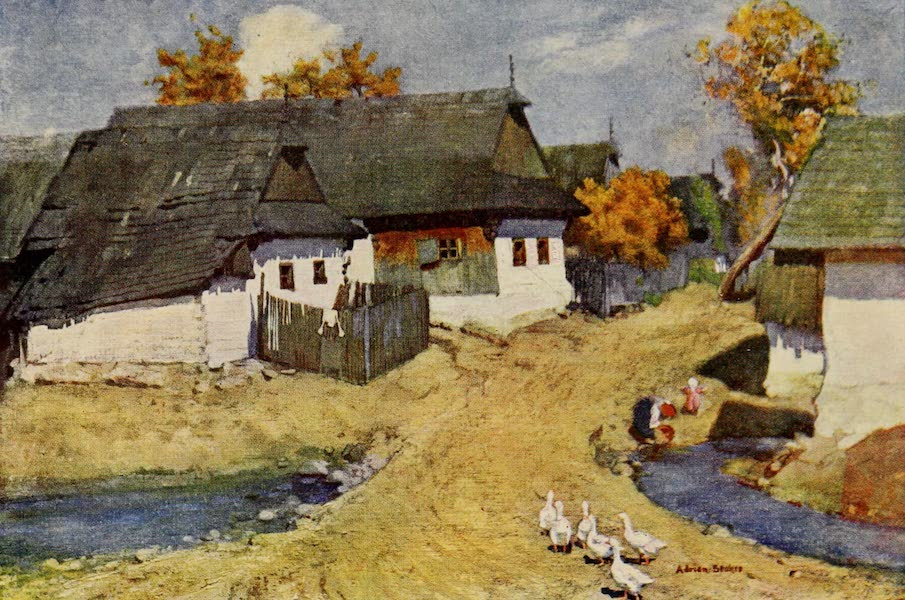 Hungary, Painted and Described - Menguszfalva (1909)