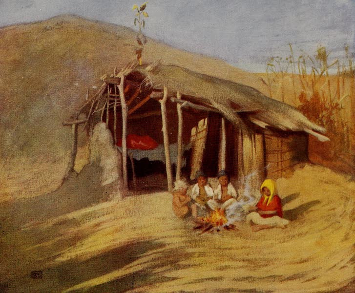 Hungary, Painted and Described - A Gipsy Home (1909)