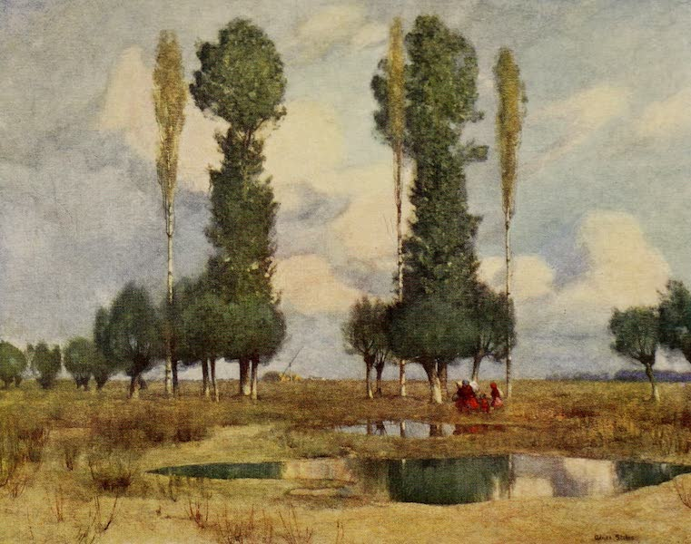 Hungary, Painted and Described - On the Waste Lands near Kalocsa (1909)