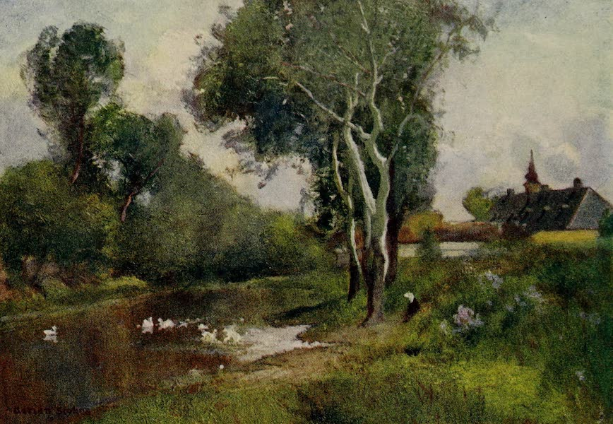 Hungary, Painted and Described - A Convent Moat (1909)