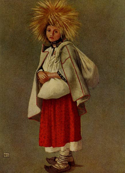 Hungary, Painted and Described - The Queen of the Harvesters, Banffy-Hunyad (1909)
