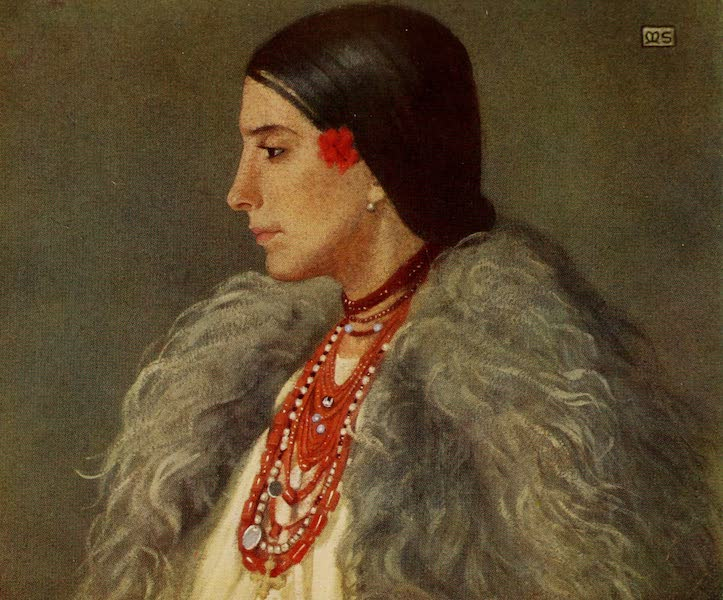 Hungary, Painted and Described - A Woman of Desze (1909)
