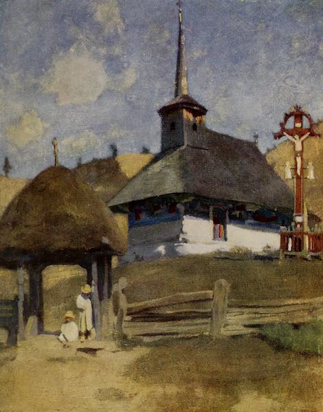 Hungary, Painted and Described - A Rumanian Church in Transylvania (1909)