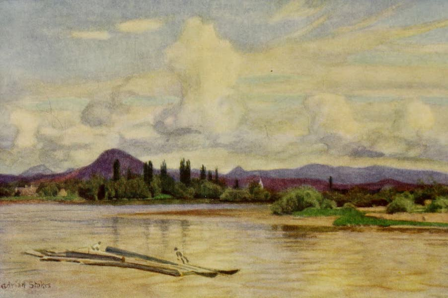 Hungary, Painted and Described - The River Maros, and the 'Hill of the Maiden' (1909)