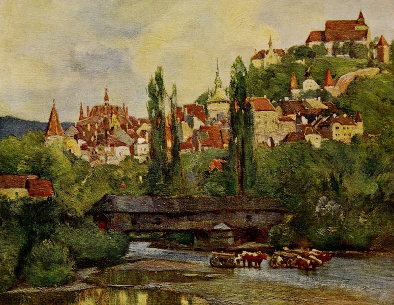 Hungary, Painted and Described - Segesvar (Schafsburg)' (1909)