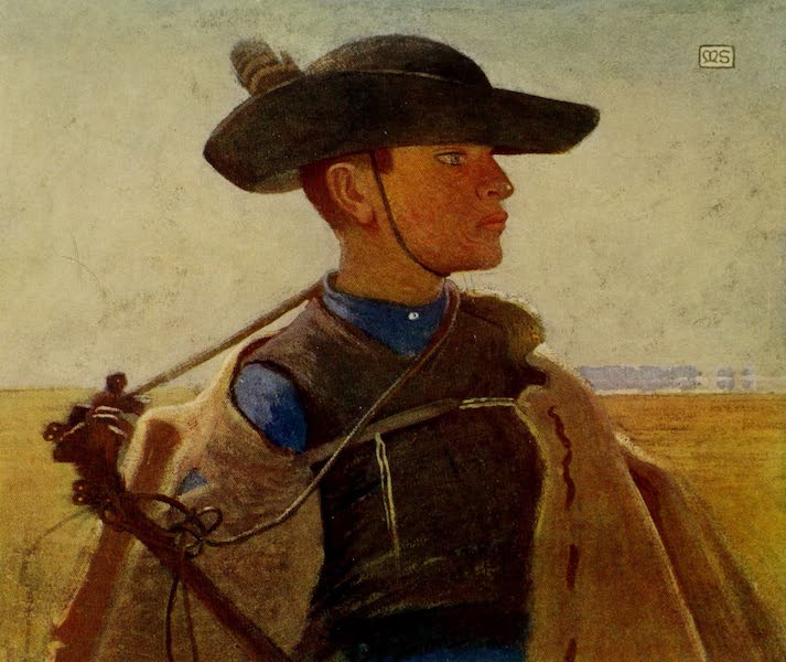 Hungary, Painted and Described - A Young Magyar Csikos on the Great Puszta of Hortobagy (1909)